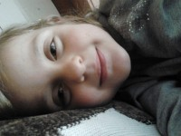 Dedőcske első mosolya :-)