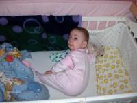 Kislányom ha felébred...Édes szívem!