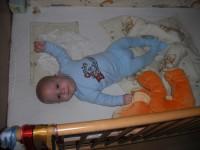 Márk, 4 hónapos ikerfiaim másik fele. :)