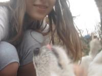 Drága kutyusommal :P