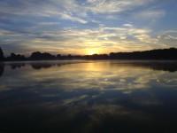 Egy jó hajnali horgászat.