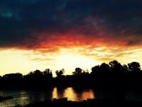 Reggel a Duna partján