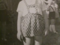 Édesanyám gyerekkorába morcisan :)