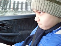 Joci fiam, ennyire szeret suliba járni :D