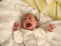 Sír a baba
