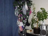 Helytakarékos, fehérneműszárítós 2 az 1-ben fenyőfa