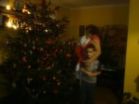 Karácsonyi fotó mamival!