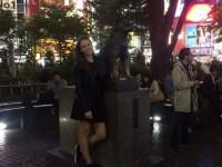 Az érzés, amikor Hachiko szobra mellett pózolsz 2015 októberében 15 évesen  a világ másik felén, távol a családodtól :) nekünk így sikerült ..