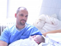 Martin fiam születése