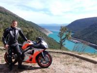 Motorral a legszebb helyeken :)