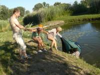 Egy igazi vízi táborozás