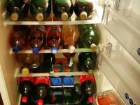 A 2015-ös év nálunk a családi ünnepségek jegyében telt. Így néz ki a hűtőnk egy-egy ilyen összejövetel alkalmával :)