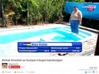A Molnár Krisztiános műugrós videóm elérte a 684.000 megtekintést. ( https://www.youtube.com/watch?v=p0wgybpbrOw ) / youtube.com/szupercsoves