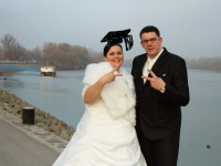 Diploma és esküvő