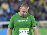Doppingvétség miatt eltiltották az olimpikon Pars Krisztiánt.