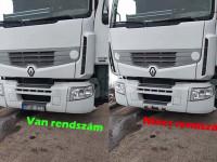 Magyar kamionosé a világ legjobb rendszámtrükkje