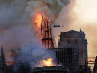 Legégett a párizsi Notre-Dame