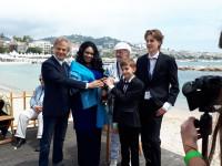A 13 éves Ábel filmes díjat nyert