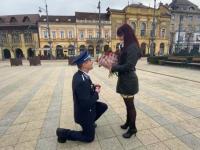 Romantikus lánykérés Debrecenben