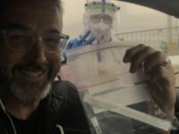 Feri kipróbálta az autós koronavírus-tesztet