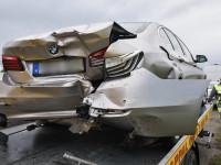 Fél órája vett BMW-t tört össze egy telefonozó furgonos Szombathelynél 2 napja.